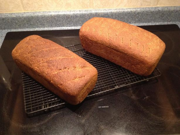 Danish Pumpernickel Rye Bread