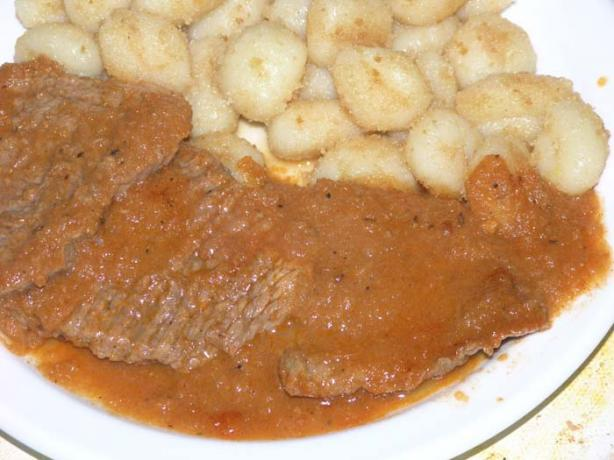 North Croatian Sautéed Beef Schnitzels