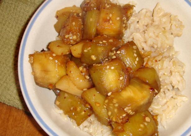 Szechuan Style Eggplant (Aubergine)