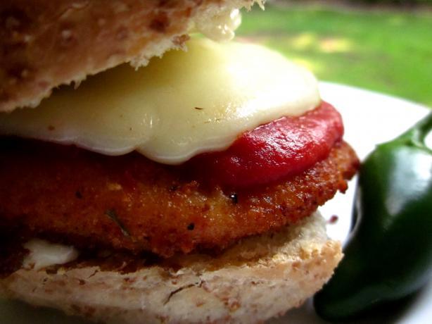 Chicken Parmesan Hoagie Sandwich