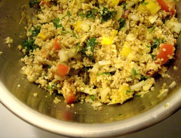 Fresh and Figgy Bulgur (Bulgor) Wheat Salad