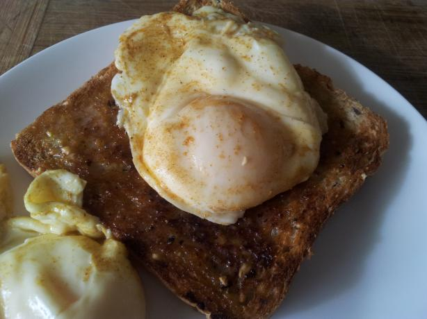 Curried Poached Eggs