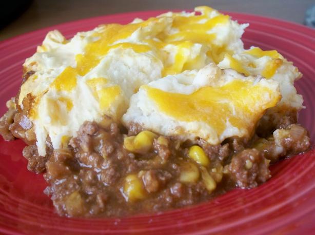 Taco Mashed Potato Casserole