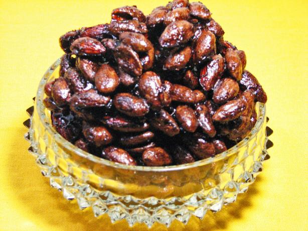 Soy Glazed Almonds