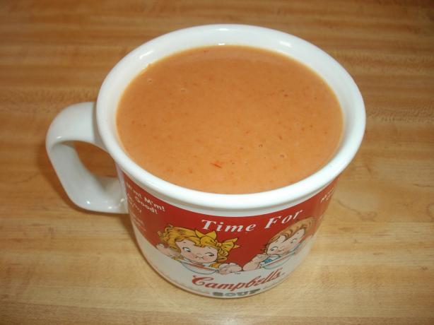 Creamy Peanut Butter Soup