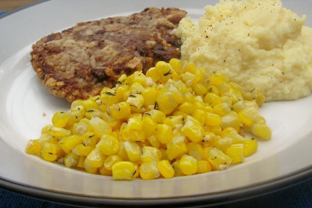 Skillet Sauteed Corn