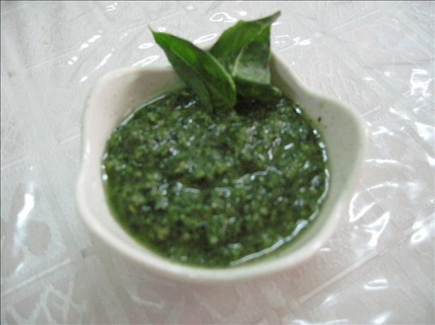 Le Pistou (Vegan Pesto)