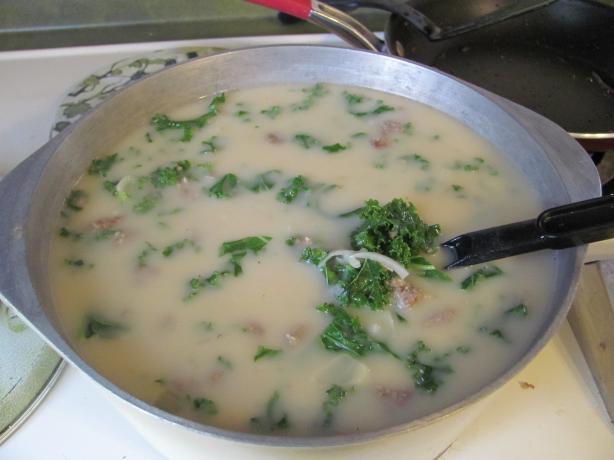 Tuscan Soup a La Olive Garden