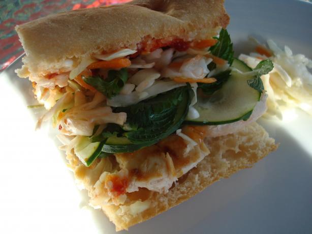 Banh Mi-Style Chicken Sandwich