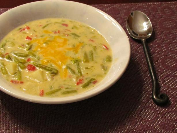 Easy Potato Asparagus Soup