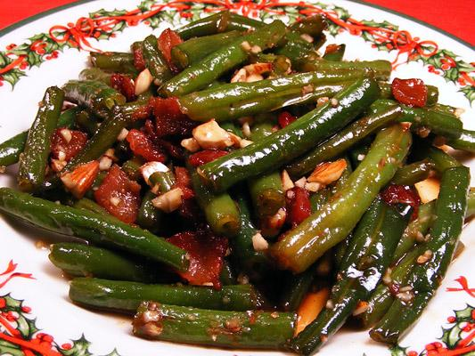 Bacon-Almond Green Beans