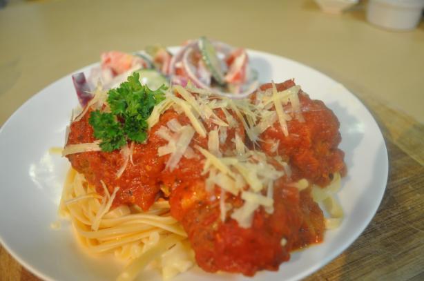 Cheesy Italian Meatballs