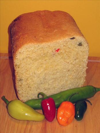 Wisconsin-Cheddar Jalapeno Bread