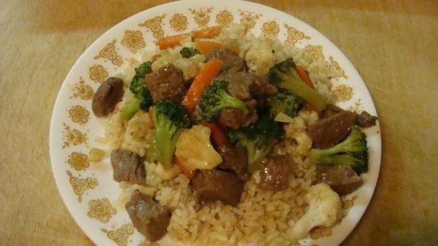 Vegetable-Beef Stir Fry