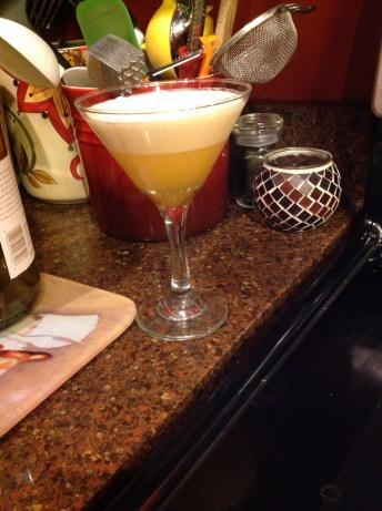Orange Creamsicle Martini (Low Calorie!)