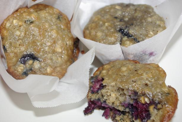 Cherry-Oatmeal Muffins
