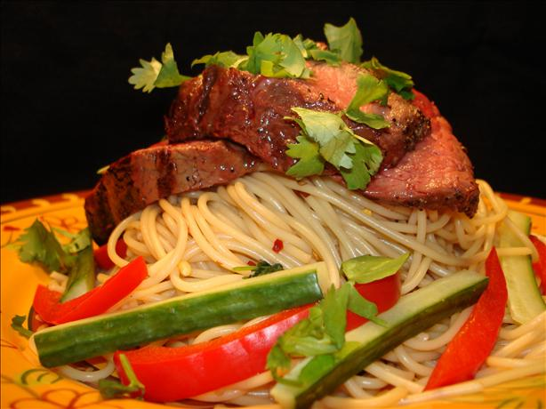 Vietnamese-Style Grilled Steak With Noodles