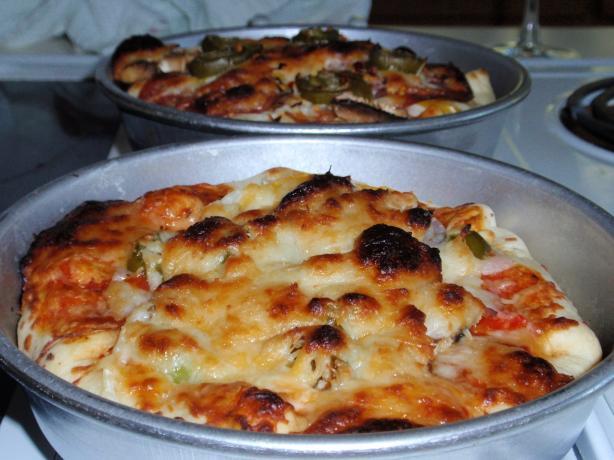 Pizza Hut Stuffed Crust Pizza