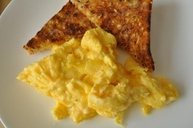 Mean Chef's Perfect Scrambled Eggs