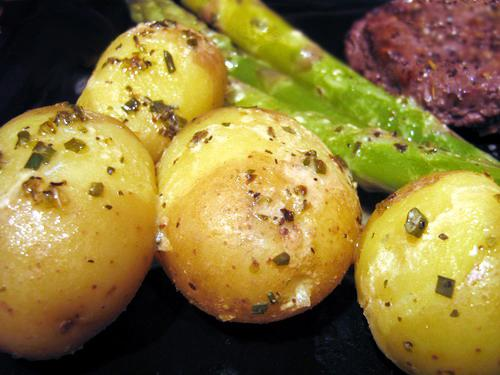 New Potatoes With Dijon Vinaigrette