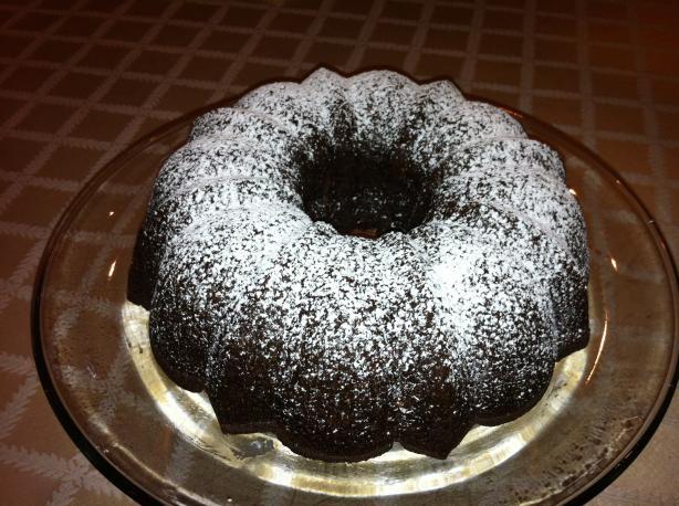 Chocolate-Banana Bundt Cake
