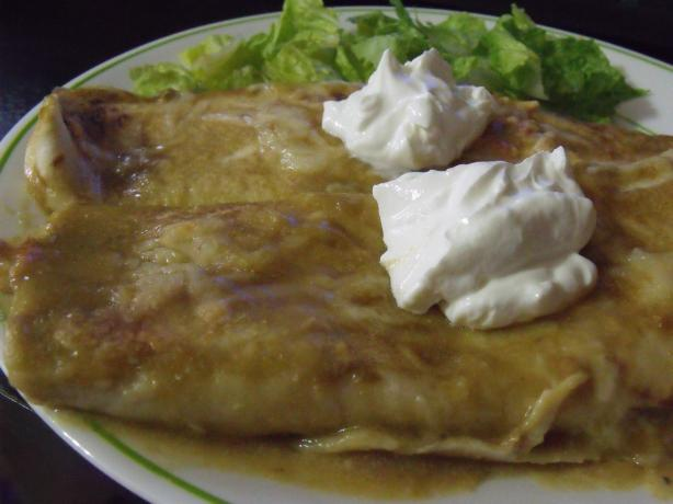 Momosita's Green Dream Enchiladas