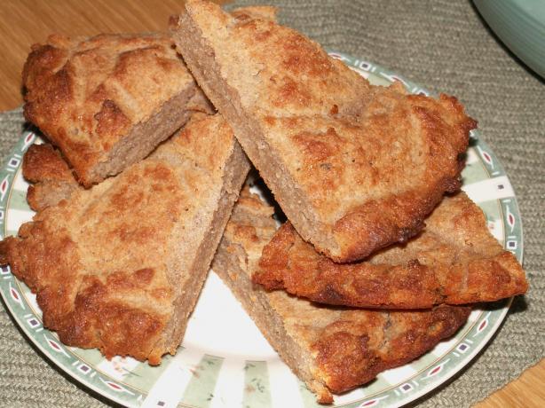 Estonian Barley Skillet Bread