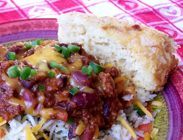 Caramelized Onion Skillet Corn Bread