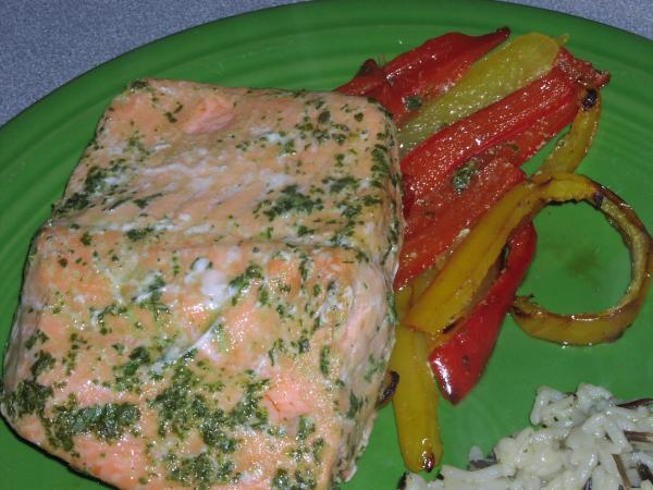 Ww 6 Points - Savory Cilantro Salmon