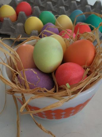 Easter Eggs - Egg Dye