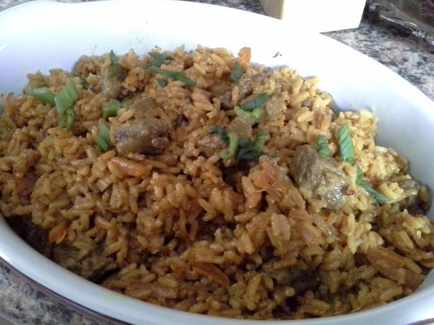 Osh / Plov - Uzbek / Central-Asian Rice