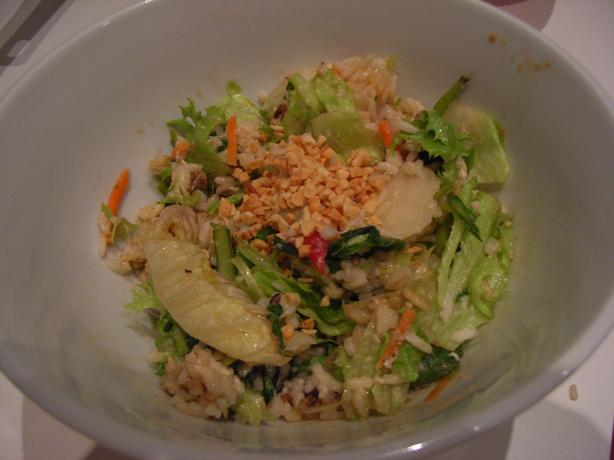 Asian Brown Rice and Peanut Salad Toss