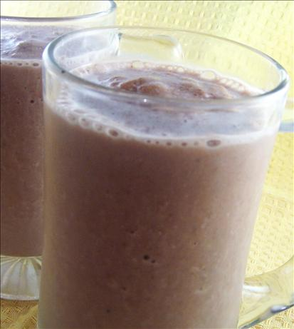 Chocolate Banana Breakfast Drink