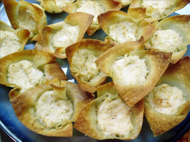 Crab Rangoon Cups