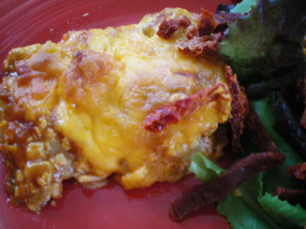 Tuna or Chicken Enchilada Casserole