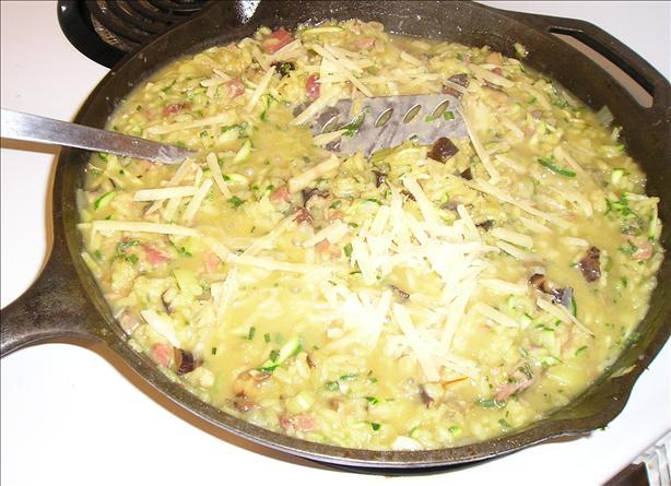 Ham & Mushroom Risotto