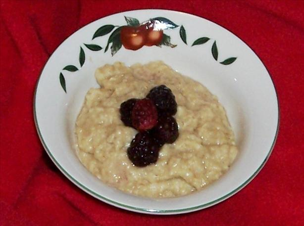 Diabetic Maple and Ginger Oatmeal