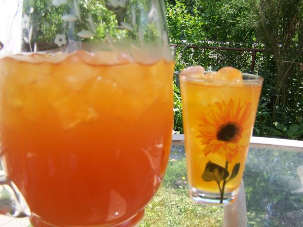 Iced Rooibos and Mango Tea