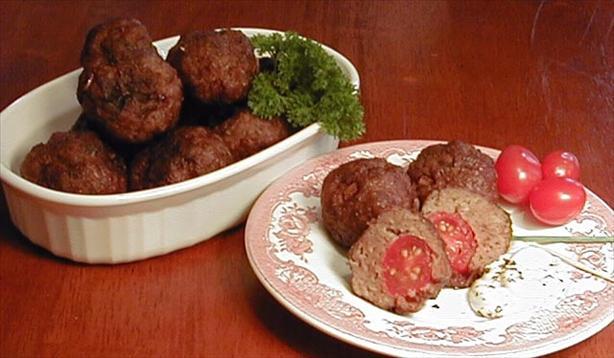 Cherry Tomato Meatballs