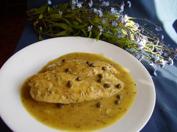 Honey Dijon Chicken with Capers