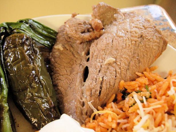 Carne Asada (Arrachera Con Ajo Y Limon A La Parrilla)