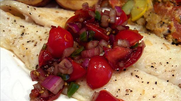 Grilled Catfish with Homemade Salsa