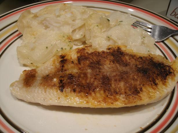 Cajun-Style Catfish-George Foreman Grill