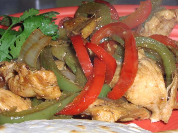 Stir-Fry Chicken Fajitas - Ww