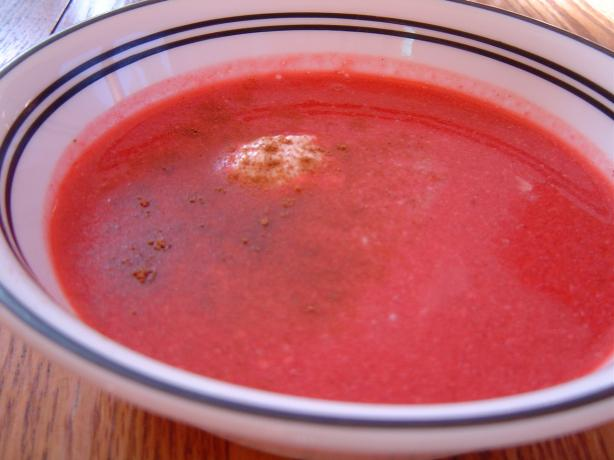 Cold Cherry Soup