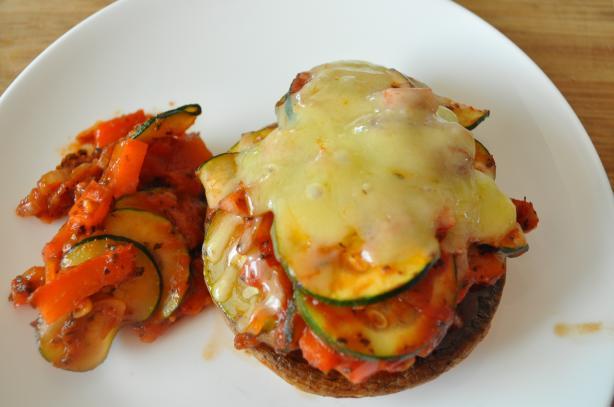 Mozzarella Portobellos (American Heart Association)