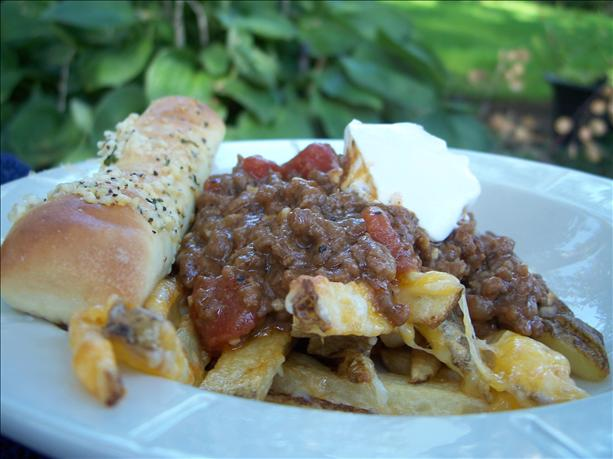 Emeril's Beef Chili Cheese Fries