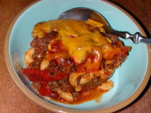 Baked Chili Mac