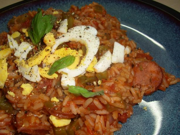 Barbecue Style Spanish Rice