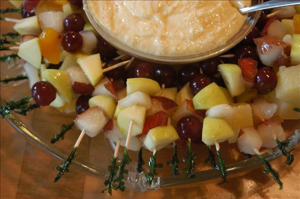 Marinated Fruit Kabobs